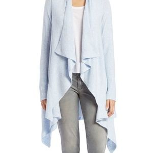 Free People open front waterfall cardigan